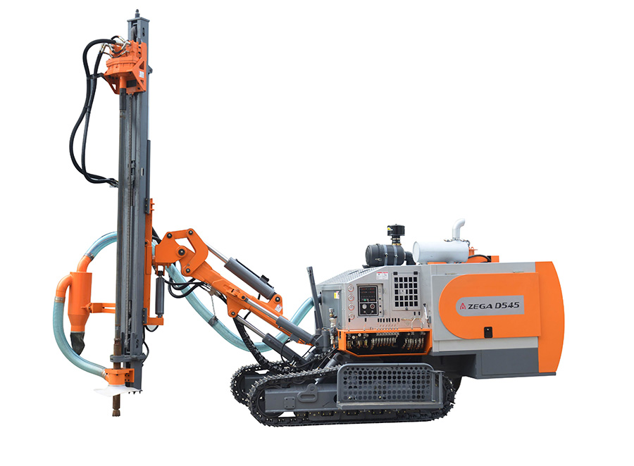 ZEGA D545 Integrated DTH Surface Drill Rig
