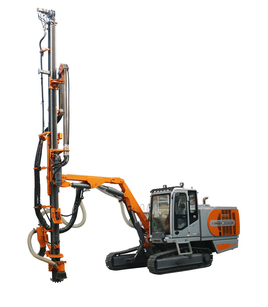 ZEGA T630 Automatic Integrated Top Hammer Drill Rig